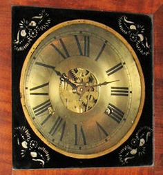 Chauncey Jerome clock face