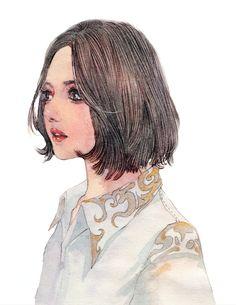 watercolor ENOFNO_水彩_涂鸦王国插画