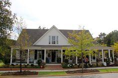 Southern Soul Mates: 2012 Southern Living Idea House Exterior: Senoia, Georgia