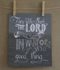 Custom Hand Lettered Scripture Verse Print 8x10 by HandLetteringCo