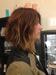 Andrea miller LeFevre hair. The lab a salon. Balayage . Ombré. San Diego. Color specialist. Blonde specialist. Long bob. A line bob. Hair cu...