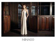 white long gown couture #ninaco #design #fashion