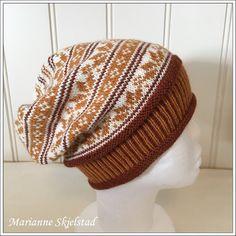 Ravelry: Vinterklem pattern by Marianne Skjelstad Fair Isle Knitting, Ravelry, Beanie, Socks, Pattern, Knit Hats, Design, Crocheting, Fashion