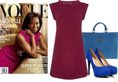 """""""Presidential in Plum"""" by ritaannesmith on Polyvore"""