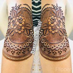 Stunning Mehndi Designs You Have To See - Kurti Blouse Khafif Mehndi Design, Floral Henna Designs, Mehndi Designs Feet, Latest Bridal Mehndi Designs, Modern Mehndi Designs, Mehndi Designs For Girls, Mehndi Design Photos, New Bridal Mehndi Designs, Dulhan Mehndi Designs
