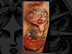 Ragdoll tattoo