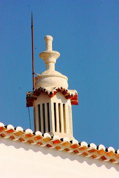 Algarve, Portugal, Azores, Rooftops, Moorish, Architecture Details, Portuguese, Brick, Folk