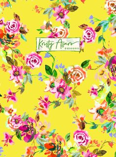 Floral Watercolor Pattern