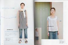GAUZE LINEN COTTON SUMMER CLOTHES - Japanese Craft Book