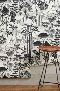 Jungle Dream Wallpaper | Anthropologie