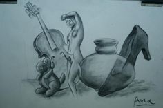 www.academiataure.com #drawing #objects #pencil