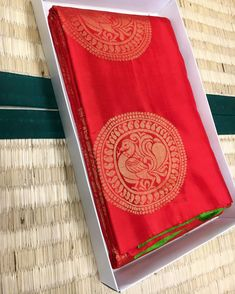 Red Borderless Saree Dm for price We ship globally Booking Contac Kanjipuram Saree, Organza Saree, Red Saree, Saree Dress, Kanjivaram Sarees Silk, Indian Silk Sarees, Pure Silk Sarees, South Silk Sarees, Blue Silk Saree