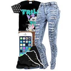 trill   ~, created by mindlesslyamazing-143 on Polyvore