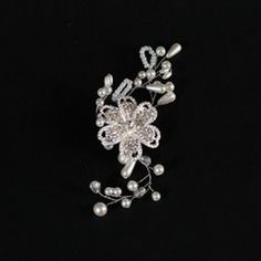 Headpieces - $7.19 - Exquisite Cubic Zirconia/Pearl Hair Jewelry  http://www.dressfirst.com/Exquisite-Cubic-Zirconia-Pearl-Hair-Jewelry-042048128-g48128