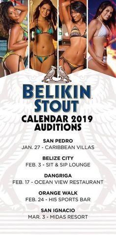 Belikin 2019 Calendar Audition