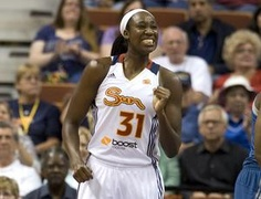Tina Charles shows rebounding flair - In her brief 2 1/2 years with the Connecticut Sun, Tina Charles, the former UConn standout, is the league's all-time leader with 11.4 rebounds per game, a number that she has eclipsed this year by pulling in 11.5 boards per contest. Read more: http://www.norwichbulletin.com/carousel/x2102592217/Tina-Charles-shows-rebounding-flair #sports #ctsun #basketball