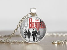 The Beatles Jewelry Pendant by BlueMoonGifts17 on Etsy