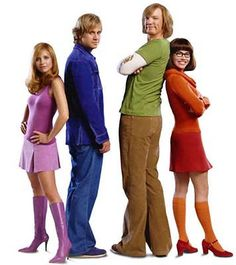 How to dress like the Scooby-Doo gang on Halloween  #halloween #costumes #fun