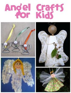 Angel Crafts for Kids - Fun Family Crafts