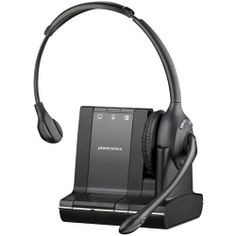 Plantronics Savi wireless headset with advanced wide band audio, enhanced digital signal processing, Three-way connectivity, Up to 6 hours talk time. Audio Hifi, Mobile Desk, Moto Suzuki, Digital Signal Processing, Usb, Wireless Headset, Bluetooth Headphones, Noise Cancelling, Computer Accessories