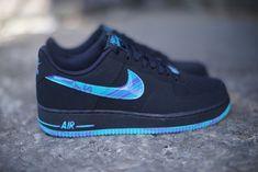 Nike Air Force 1 Low: Black, Turbo Green & Purple Venom