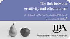 The link between Creativity and Effectiveness http://www.thinkbox.tv/server/show/nav.1372