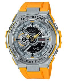 Casio Watch G-shock G Steel Men's With Tracking for sale online Casio G Shock, G Shock Watches, Sport Watches, Best Watches For Men, Cool Watches, Unique Watches, Stylish Watches, Casio Vintage, G Shock Men