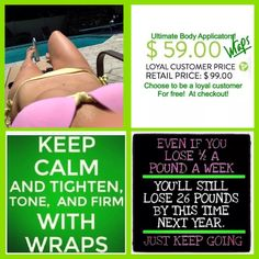 Text/call for more info/shop/join  631-220-7382 Email @ bellereenawraps@yahoo.com or visit my website @ bellereenawraps.myitworks .com