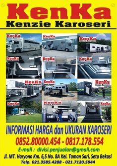 KAROSERI TRUCK ANGKUTAN KUDA >> KAROSERI KENKA Fiber, Trucks, Box, Snare Drum, Truck, Track