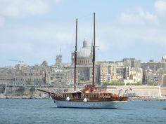 Boat in Malta