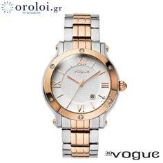 VOGUE Grace Crystals Two Tone Stainless Steel Bracelet. Μοντέλο: 77006.1 Τιμή:	215€ http://www.oroloi.gr/product_info.php?products_id=38437