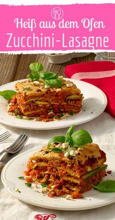 Köstliche Zucchini-Lasagne die garantiert vegan ist - Famous Last Words Carrot Recipes, Milk Recipes, Vegan Zucchini Lasagna, Benefits Of Potatoes, Vegetable Lasagne, Health Desserts, Different Recipes, Cooking, Ethnic Recipes