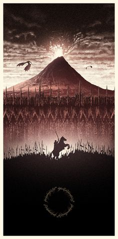 Amazing LORD OF THE RINGS Poster Art!