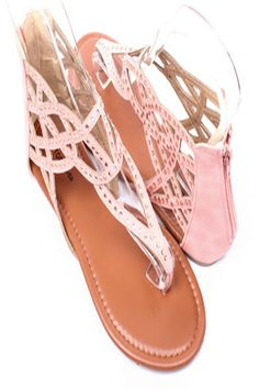 LIGHT CORAL RHINESTONES CUTOUTS THONG FLAT SANDALS,$19.99 #WomensSandals #CuteSandals #SexySandals #CheapFlatSandal #spring #springcollection #cute #fun #2014 #springtime #springfling #springfun #2014spring #springbreak #springfun #funinthesun #fashionshoes