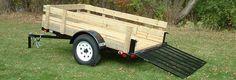 trailer sides aluminum vs wood - Google Search