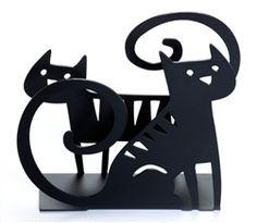 Cat Napkin Holder designed by Bengt & Lotta, Sweden