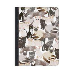 CASETiFY iPad Folio iPad Air 2 Case - Cat pattern by Marta Olga Klara Ipad Air 2 Cases, 2015 Ipad, Apple Watch Models, Apple Watch Series 2, Buy A Cat, Cat Pattern, Ipad Pro