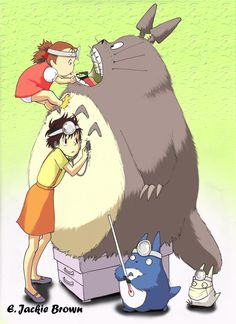 """If you watch """"My Neighbor Totoro"""" with [your] children, you'll never want to grow up -- ever again. Seriously, check it out."""