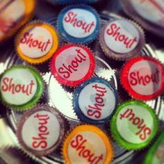 Edible branding Branding, Desserts, Life, Food, Tailgate Desserts, Dessert, Postres, Brand Identity, Deserts
