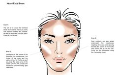 Contouring - Heart Shaped Face