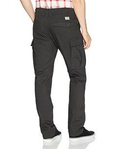Amazon.com: Volcom Men's Vsm Stranger Cargo Slub Chino Pant: Clothing