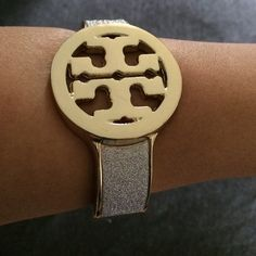 "Spotted while shopping on Poshmark: ""✨Tory Burch gold bangle!✨""! #poshmark #fashion #shopping #style #Tory Burch #Jewelry"