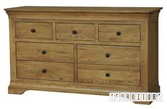 CHATEAU French Style Solid OAK 3 over 4 Chest , Bedroom, NZ's Largest Furniture Range with Guaranteed Lowest Prices: Bedroom Furniture, Sofa, Couch, Lounge suite, Dining Table and Chairs, Office, Commercial & Hospitality Furniturte