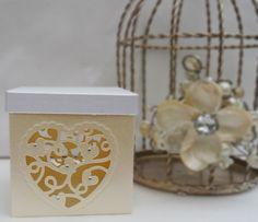 Sneak Peek 5 - Tonic Studios Affections First Crush Favour Box Wedding Favor Boxes, Wedding Cards, Wedding Ideas, Tonic Cards, Marriage Cards, Boxes And Bows, Studio Cards, Hand Made Greeting Cards, Step Cards