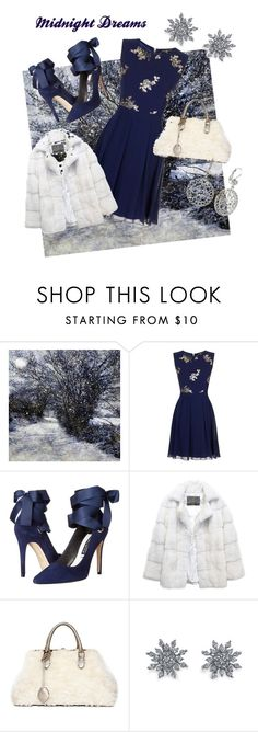 """midnight dreams"" by kkornak on Polyvore featuring Little Mistress, Alice + Olivia, Lilly e Violetta, Rochas, Disney and 1928"