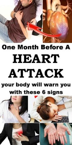 Are Early Warning Signs Of A Heart Attack One month before the attack our heart gives us these signs.One month before the attack our heart gives us these signs. Health Advice, Health And Wellness, Health Fitness, Health Care, Health Exercise, Fitness Tips, Health Diet, Holistic Wellness, Health Goals
