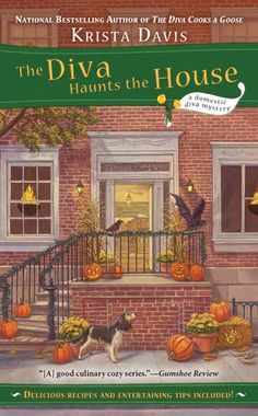 The Diva Haunts the House (A Domestic Diva Mystery) by Krista Davis,http://www.amazon.com/dp/0425243788/ref=cm_sw_r_pi_dp_0Upgtb1GPPGXWM6Y