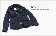RRL Field Coat