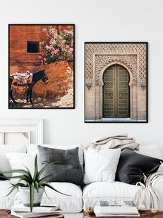 Donkey/Archway/Moroccan Wall Art/Blush Door Print/Morocco Architecture/Pink Moroccan Arch/Pink Door Print/Marrakesh Wall Art/Arabic Door Vintage Images, Retro Vintage, Moroccan Wall Art, Frame Download, International Paper Sizes, Marrakesh, Poster Wall, Donkey, All Design