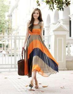 Vestido Longo Leve Seda